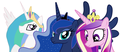 MLP Fanart Princesses - my-little-pony-friendship-is-magic fan art