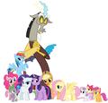 MLP Fanart The Gang - my-little-pony-friendship-is-magic fan art