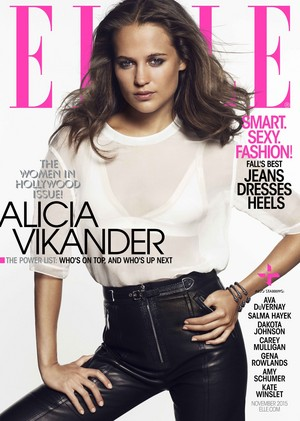 Magazine scans: Elle US (November 2015)