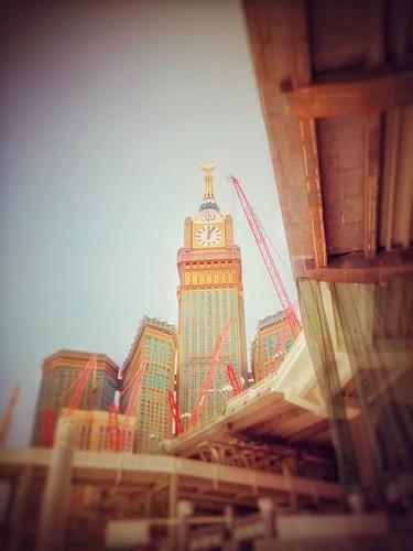 ইসলাম দেওয়ালপত্র titled Makkah clock tower