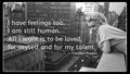 Marilyn Monroe - quotes fan art