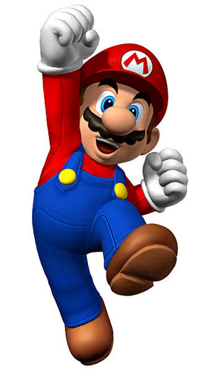 Mario Jump Front