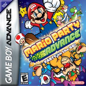 Mario Party Advance BoxArt