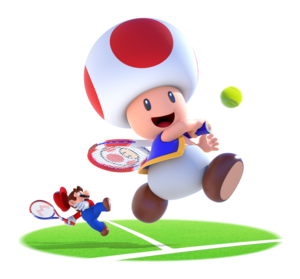 Mario and Giant Toad