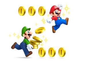 Mario and Luigi Coins