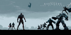Marvel Phase 2 Collection Art - Avengers: Age of Ultron
