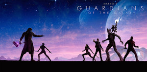 Marvel Phase 2 Collection Art: Guardians of the Galaxy