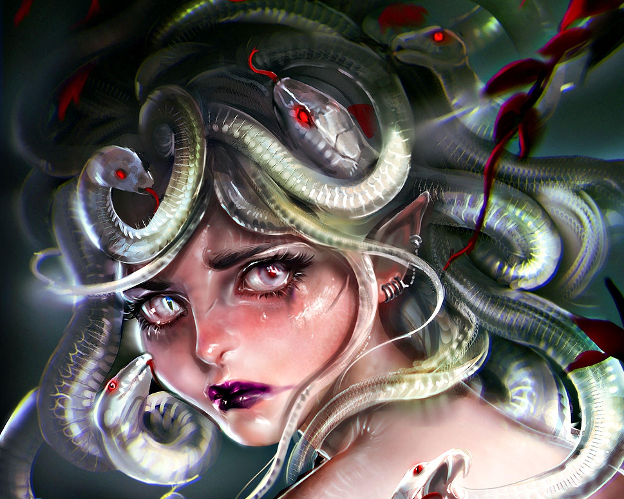 Medusa - fantasia wallpaper (39088193