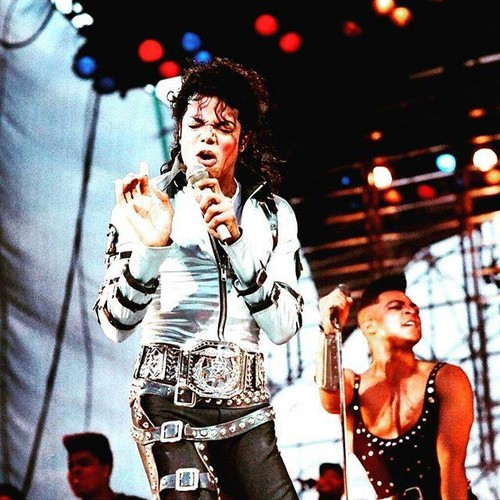 Michael Jackson achtergrond probably with a concert called Michael Jackson Bad Tour