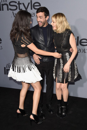 Michelle at InStyle Awards 2015