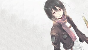 Mikasa Ackerman 壁纸