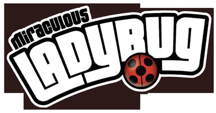 Miraculous Ladybug Hintergrund titled Miraculous Ladybug Logo