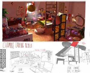Miraculous Ladybug - Marinette's প্রথমপাতা Concept Art