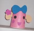 Miss La Sen paper cup - random photo