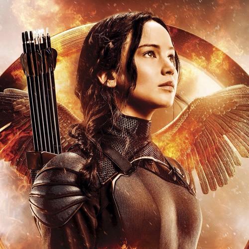 Katniss Everdeen achtergrond titled Mockingjay