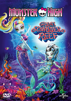 Monster High: Great Scarrier đá ngầm, rạn san hô (DVD)