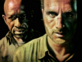 the-walking-dead - Morgan and Rick  wallpaper