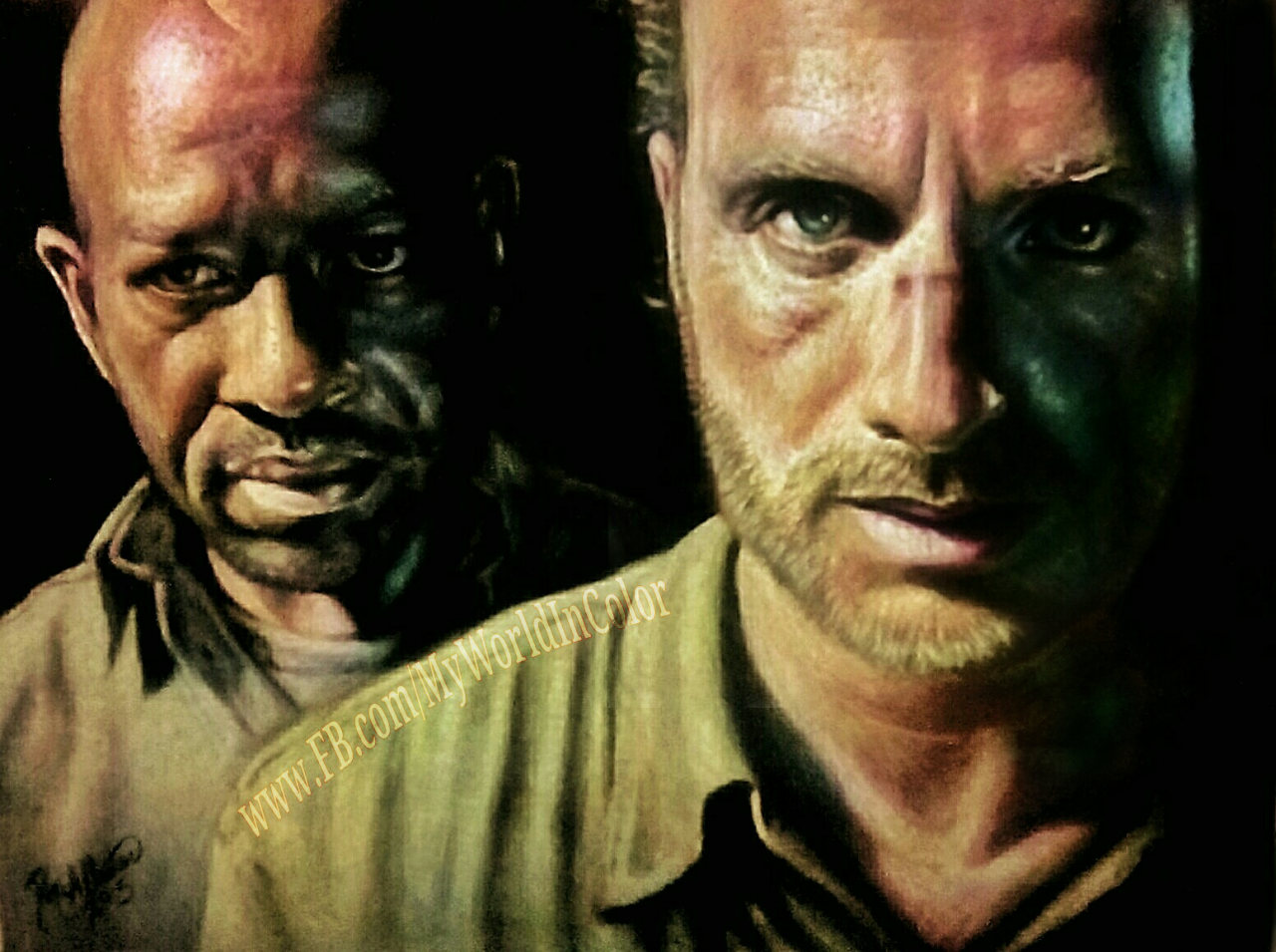 The Walking Dead Images Morgan And Rick HD Wallpaper Background Photos