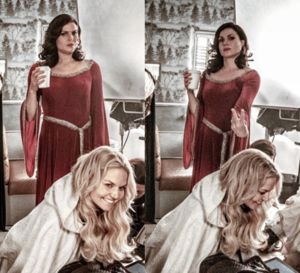 Morrilla on set