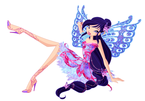 Winx Club(ウィンクス・クラブ) 壁紙 entitled Musa Butterflix