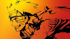 Naruto Sketch kertas dinding