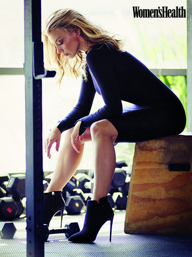Natalie Dormer wallpaper with a hip boot and tights titled Natalie Dormer Photoshot on Women's Health UK