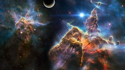 o espaço wallpaper called Nebula