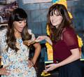 New Girl Celebrated Their 100th Episode - zooey-deschanel photo