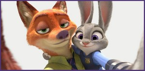 Nick and Judy selfie