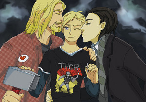 Norway and Thor and Loki from his mythology