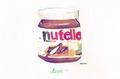 Nutella - chocolate fan art