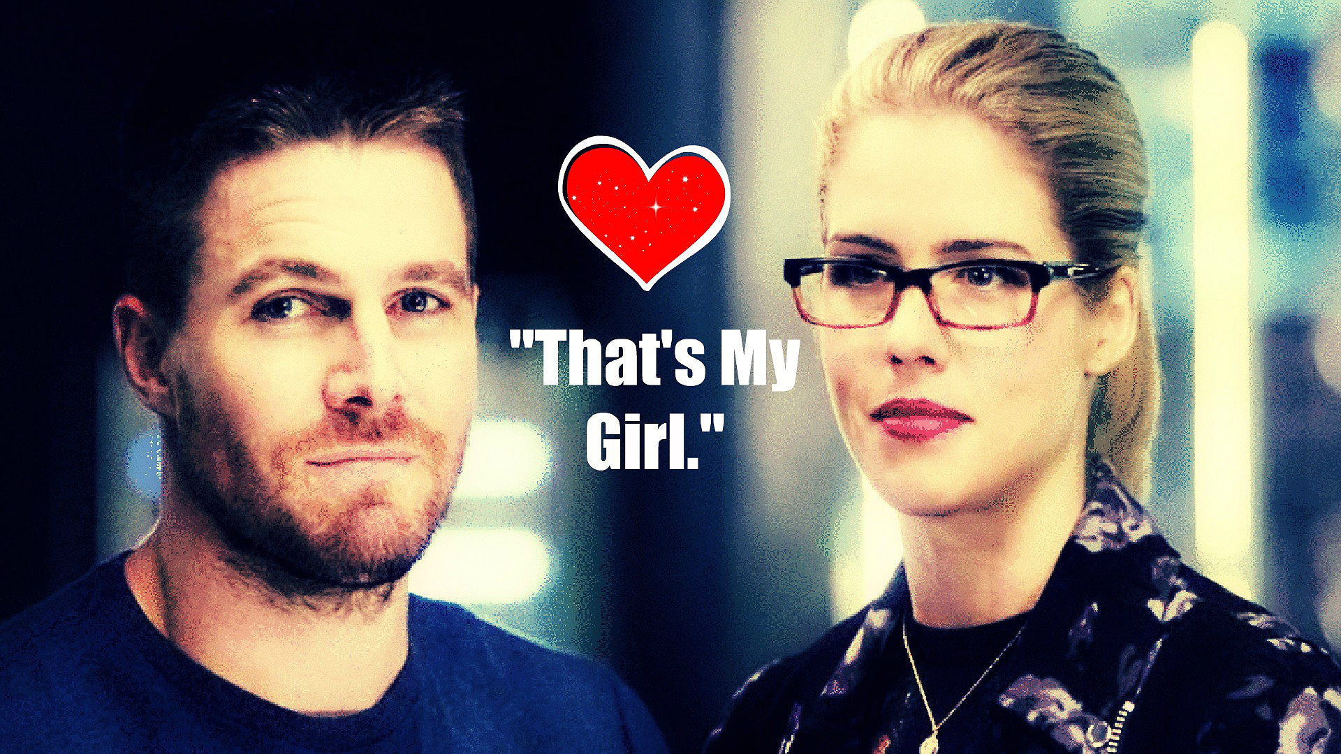 Oliver and Felicity Wallpaper - Oliver & Felicity ...