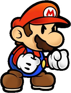 Paper Mario Angry