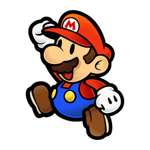 Paper Mario Jump again