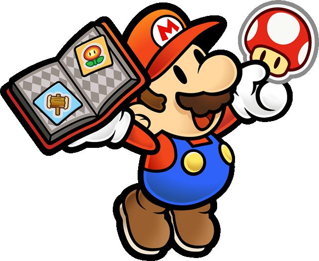 Paper Mario with Sticker book again
