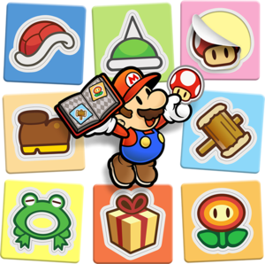 Paper Mario with Stickers