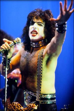 Paul ~Rome, Italy…December 2, 1982 (Creatures of the Night European promo tour)