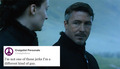 Petyr Baelish and Craigslist Personals - game-of-thrones fan art