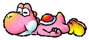 розовый Yoshi