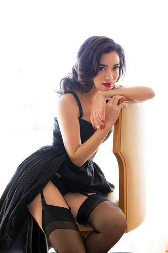 Christian Serratos 壁紙 with bare legs and tights titled PLAYBOY(プレイボーイ) 'Becoming Attraction' ~ 2015