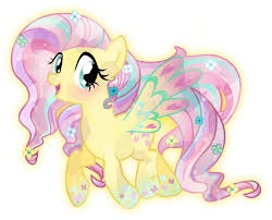 Rainbowfied Crystal Fluttershy