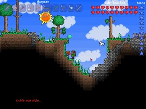 Really Old Terraria Screenshots