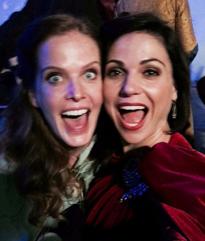 Rebecca and Lana