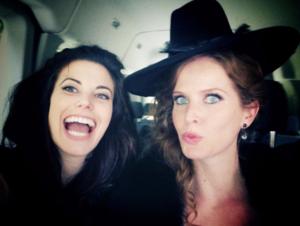 Rebecca and Meghan