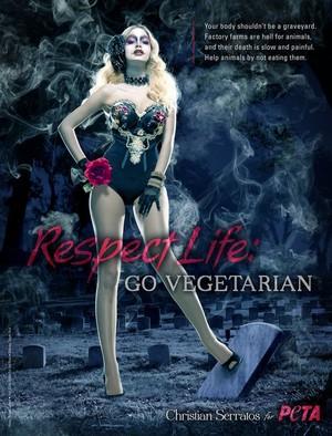 Respect Life. Go Vegetarian ~ 2012