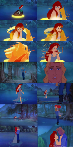disney crossover achtergrond titled Reunited (Swan Princess)