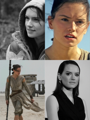 Rey(Daisy Ridley),SW:The Force Awakens