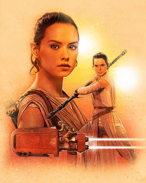 Rey,SW:The Force Awakens