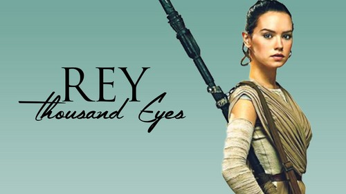 Star Wars wallpaper titled Rey,SW : The Force Awakens