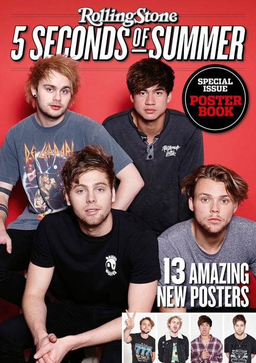 5 Seconds Of Summer Images Rolling Stone Poster Book Wallpaper And Background P Os